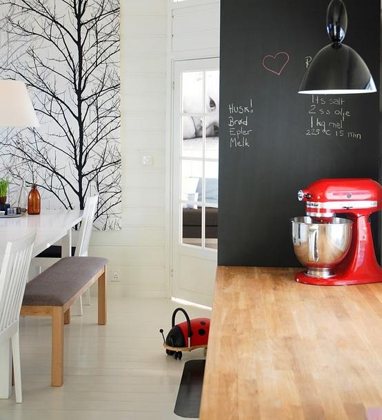 Vernice effetto lavagna - Lavagna fogli mobili ikea ...