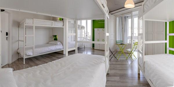 U hostels madrid un ostello di design a madrid for Piani domestici a buon mercato