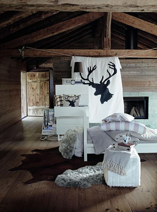 Ikea arredamento montagna modificare una pelliccia - Casa montagna arredo ...